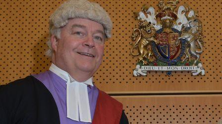 Judge Overbury read about the poem in court Picture: SARAH LUCY BROWN