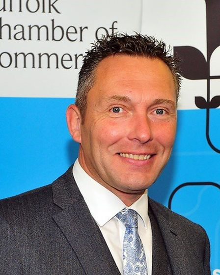 John Dugmore, chief executive of Suffolk Chamber Picture: SUFFOLK CHAMBER