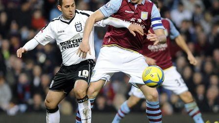 Michael Chopra forced an own goal opener at Aston Villa in 2013. Photo: Pagepix