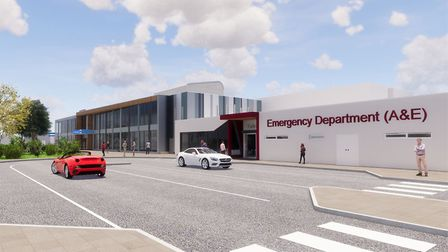 The new urgent treatment centre opened on October 1, next to Colchester Hospital's A&E department Pi