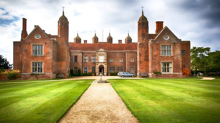 Melford Hall at Long Melford Picture: BARRY PULLEN