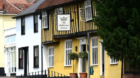The Bildeston Crown has been named one of the few restaurants with three AA rosettes awarded. Pictur