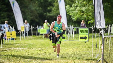Edd is competing in a half Iron Man in New Zealand at Lake Taupo next and plans to raise at target o