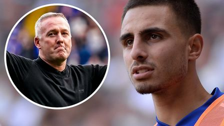 Paul Lambert still has Anthony Georgiou in his plans. Picture: ARCHANT