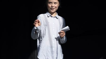 Greta Thunberg is one of those who has been targeted by online trolls. Picture: PAUL CHAISSON/AP