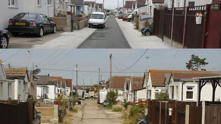 Jaywick Sands is ranked the most deprived neighbourhood in England - but work has been done to impro