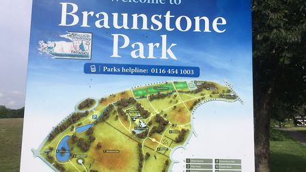 Braunstone Park, the home of the Braunstone parkrun on the edge of Leicester. Pictue: CARL MARSTON
