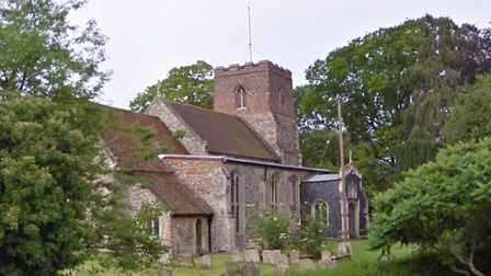 Lead thieves have targeted All Saints Church in Hartest, near Bury St Edmunds Picture: GOOGLE MAPS