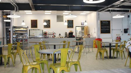 The new Riverside Refectory at the Colchester Institute Braintree Campus. Picture: SUZANNE BUSH