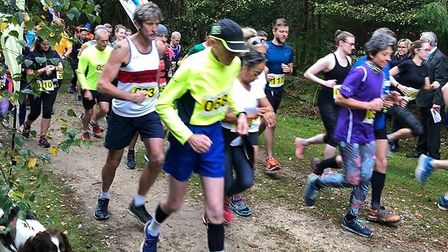 The Honour Run through Rendlesham took place on Sunday Picture: East Suffolk Council
