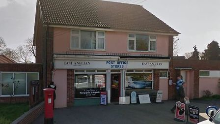 Great Waldingfield Post Office Picture: GOOGLE STREET VIEW