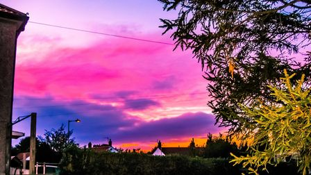 Beautiful skies have appeared across the county Picture: ROCHELLE KERSEY