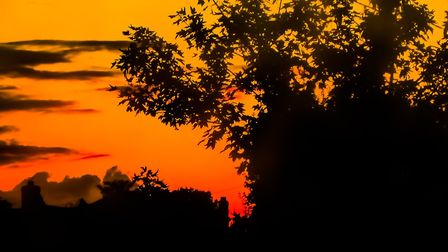 Forecasters say there are a number of reasons why the sunsets have been so vivid Picture: ROCHELLE K