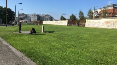 Part of the Berlin Wall has been turned into a memorial park, remembering those who died trying to c
