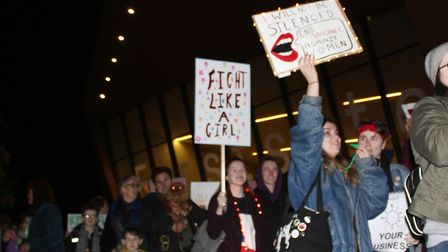 Organisers, the Centre for Action on Rape and Abuse (CARA), are hoping to see even more people than