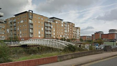 Three police officers rescued a man from a burning flat in Ship Wharf, Colchester Picture: GOOGLE