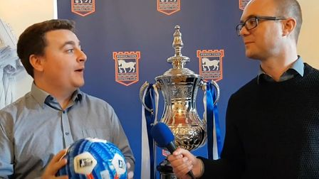 Andy Warren and Stuart Watson look ahead to Ipswich Town's FA Cup clash with Lincoln City. Picture: