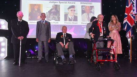 Judges Special Award winners were James Perry, Tony Pyatt, Francis Grant and Douglas Smith - who are