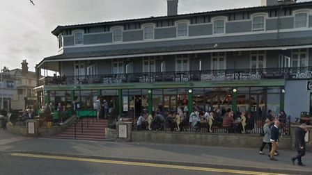 The serious assault took place outside the Moon and Starfish pub. Picture: GOOGLE MAPS