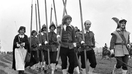 Do you remember the siege in 1972 at Crow's Hall in Debenham? Picture: DAVID KINDRED