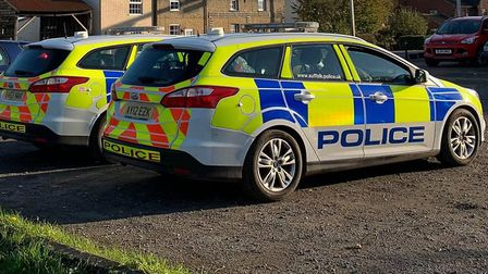 A police presence remains in Little Stonham as police investigate the death of a woman in her 40s. T