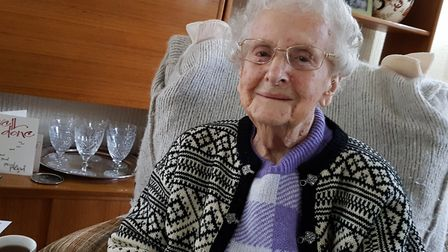 Former Royal Navy teleprinter Marjorie West has been awarded Chevalier in the French legion d'honneu