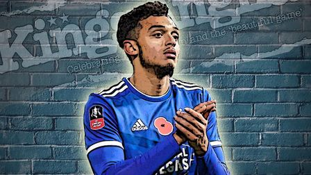 Andre Dozzell scored the equaliser in Ipswich Town's 1--1 draw with Lincoln City this weekend. Pictu