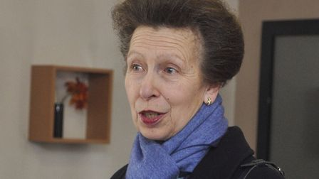Princess Anne is expected in Suffolk on Tuesday Picture: SUE ANDERSON