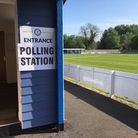 Don't rule out seeing more polling stations like Bury Town FC. Picture: WEST SUFFOLK COUNCIL