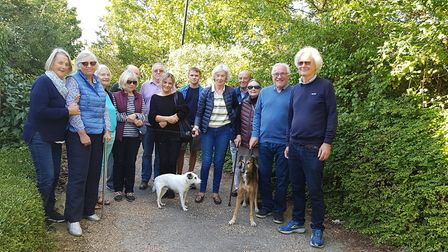 Residents of Melton Park have united in oppposition to plans for housing on the former green Picture