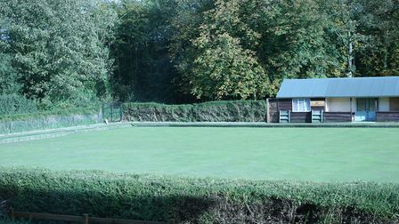 The bowling green in 2004 when it was still in use Picture: CONTRIBUTED