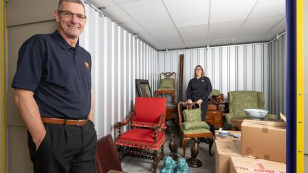 HomeStore�s Ipswich branch said it has see a rise in homeowners using self storage during house refu