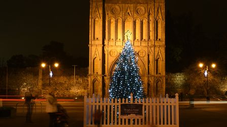 Angel Hill at Christmas Picture: SARAH LUCY BROWN