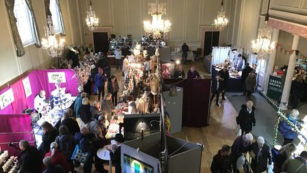 The Athenaeum during the Bury St Edmunds Christmas Fayre last year Picture: NEIL DIDSBURY