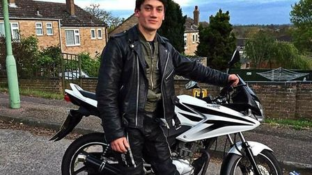 Jake Page, 19, who was killed on his motorbike following a crash in Sudbury Picture: SUPPLIED BY FAM