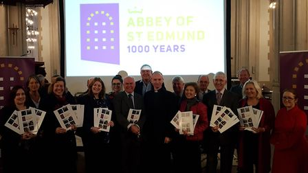 Launch of the Abbey of St Edmund 1,000 Year Celebration Picture: RACHEL EDGE