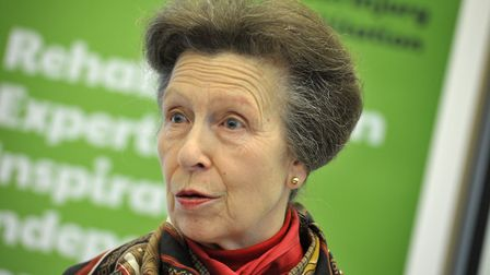 HRH Anne, Princess Royal visited Livability Icanho in Stowmarket on her visit to Suffolk Picture: S