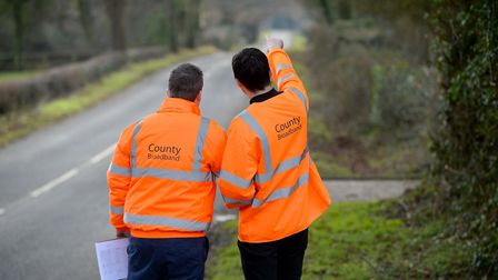 County Broadband is rolling out next-generation full fibre broadband to rural communities across Eas