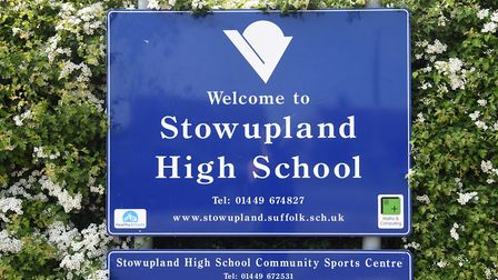 Stowupland High School. Picture: SARAH LUCY BROWN