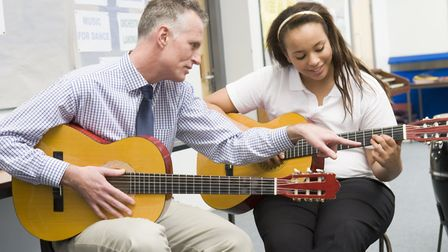 Studies have shown a correlation between playing an instrument and attainment in maths Picture: Get