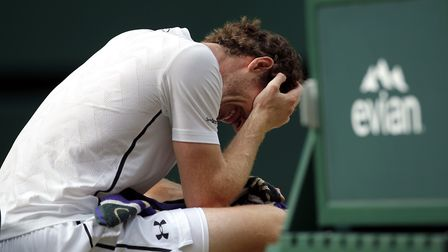 Andy Murray was on the brink of retirement earlier this year. Picture: PA