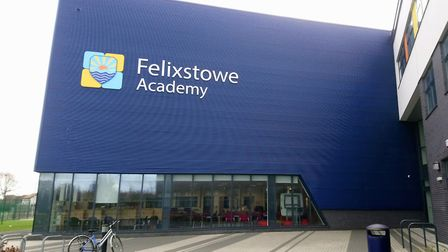 Felixstowe Academy is being monitored after being rated as inadequate by Ofsted. Picture: KATY SANDA