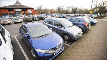 Car parking in Sudbury will be reviewed if Babergh District Council's cabinet approves the review. P