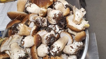 The Sail Loft restaurant and café-bar in Southwold has managed to find 15kg of ceps. Picture: THE SA