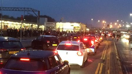 """Commuters have described """"carnage"""" at Colchester railway station Picture: SIMON ROBINSON"""