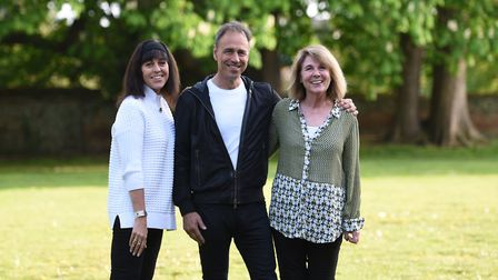 Author Anthony Horowitz wants to see a greater focus on school libraries Picture: SARAH LUCY BROWN