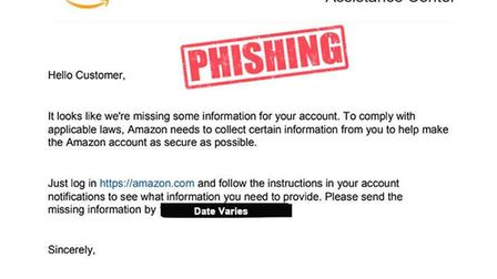 Scammers posing to be from Amazon have been trying to con people out of thousands. Picture: SUFFOLK