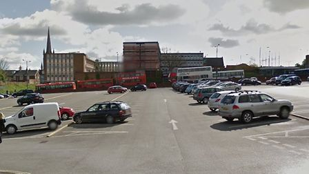 A pay on exit trial will be trial at St Andrews Street car park in Bury St Edmunds Picture: GOOGLE M