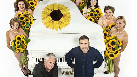 Promotional image for The Girls, the new musical from Gary Barlow and Tim Firth, based on Firth's pl