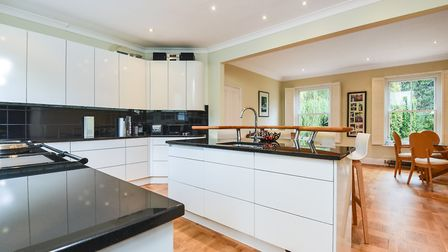 The fitted kitchen at Cockfield House Picture: BEDFORDS